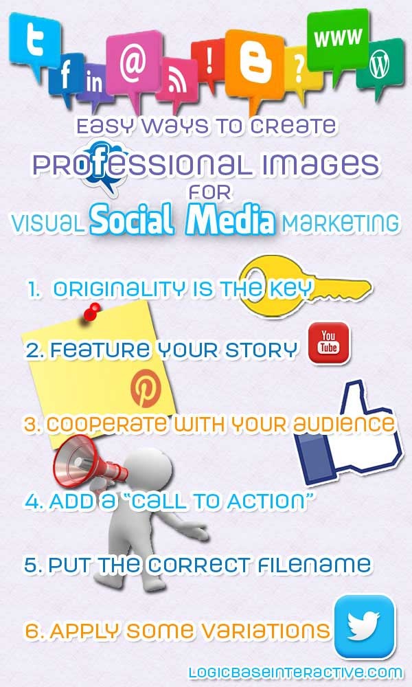 Easy Ways To Create Professional Images For Visual Social Media Marketing