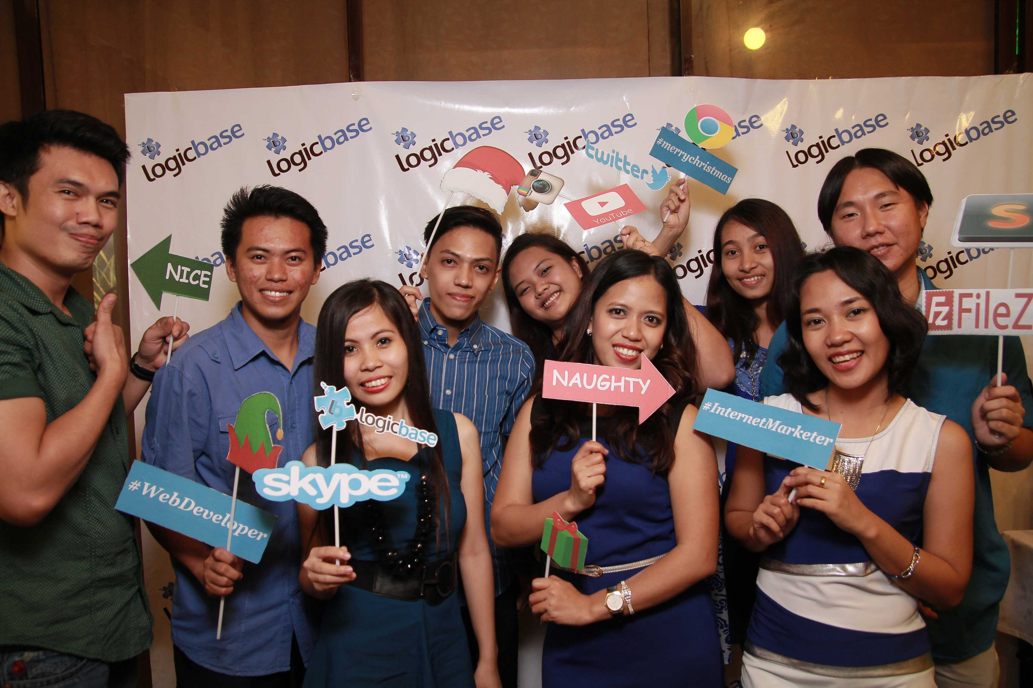 A Blissful Christmas Party Celebration With My LogicBase Interactive LLC Family