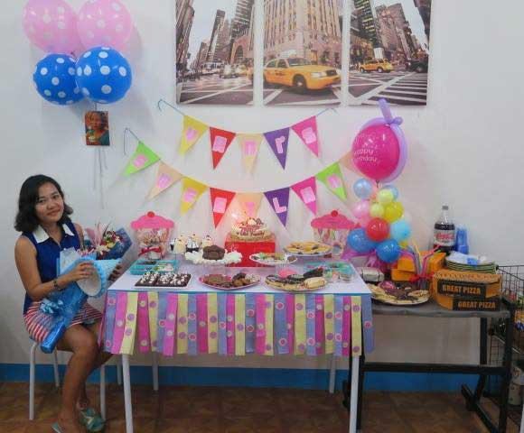Yani's Sweetland: LBI's Sweet Surprise For Ms. Yani's Birthday