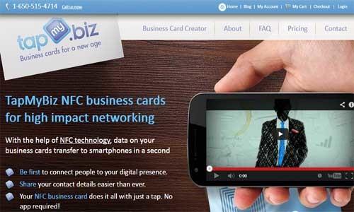 TapMyBiz – Buy NFC Business Cards Online!