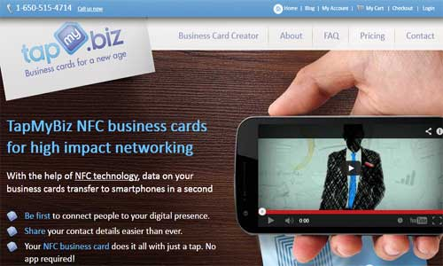 TapMyBiz – Buy NFC Business Cards Online!