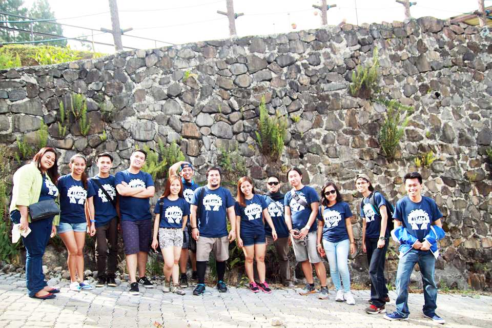 LogicBase Interactive Team Building 2015 At Dahilayan Adventure And Forest Park