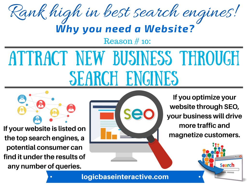 10 - Attract New Business through Search Engines