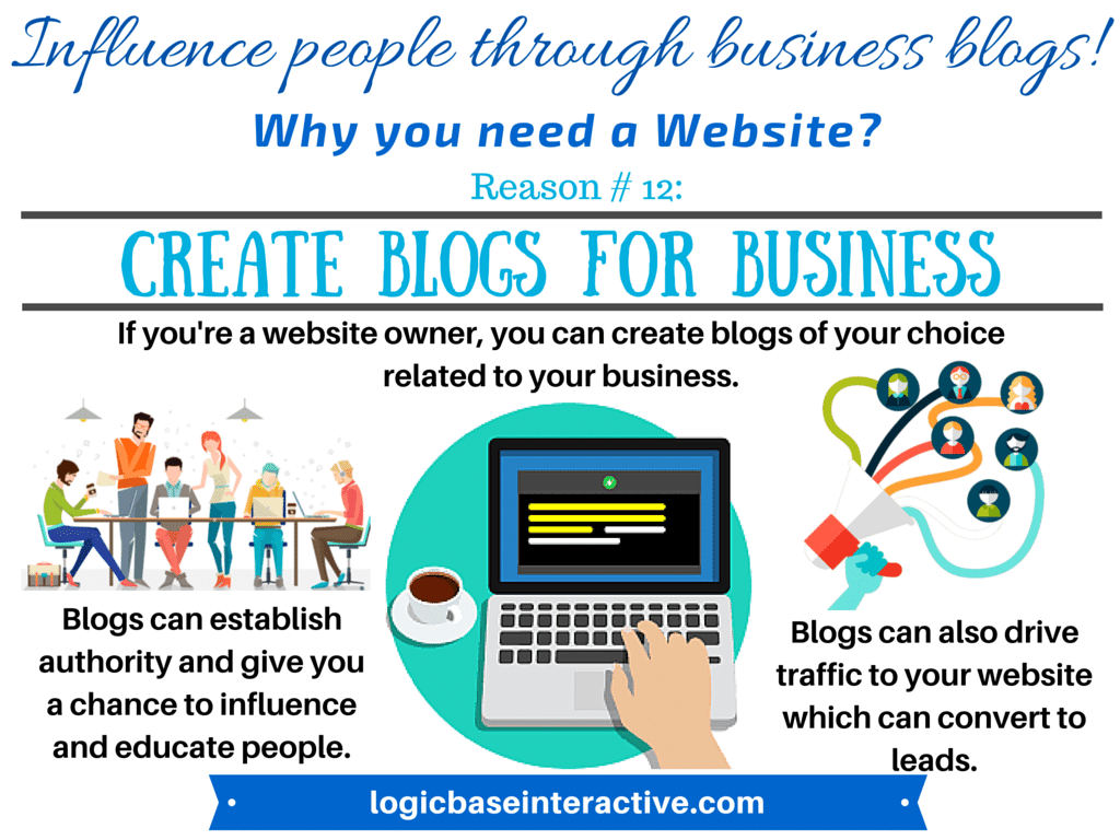 12 - Create Blogs for Business