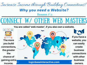 7 - Connect with Other Web Masters