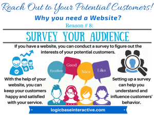 8- Survey Your Audience