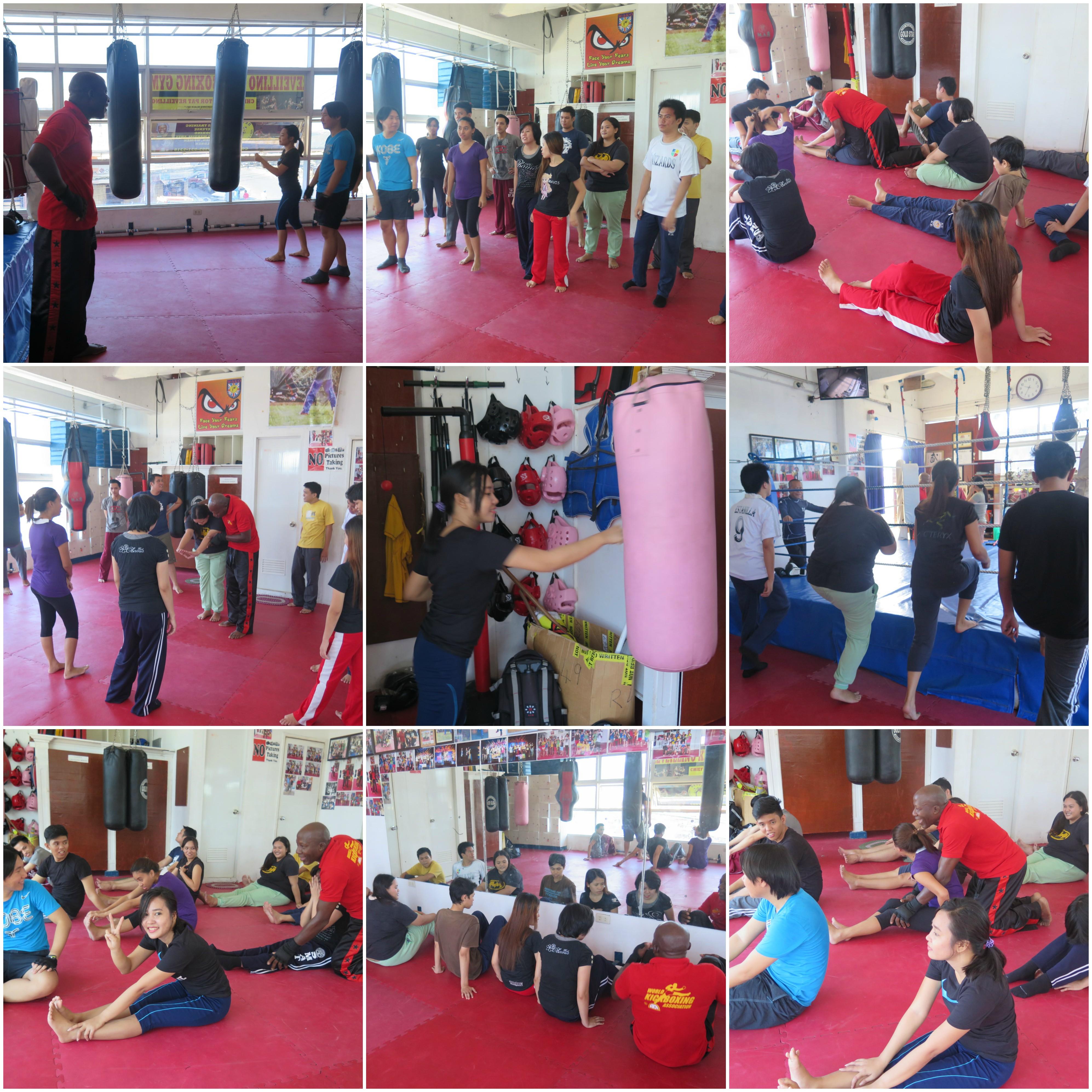LBI Team Goes Kickboxing