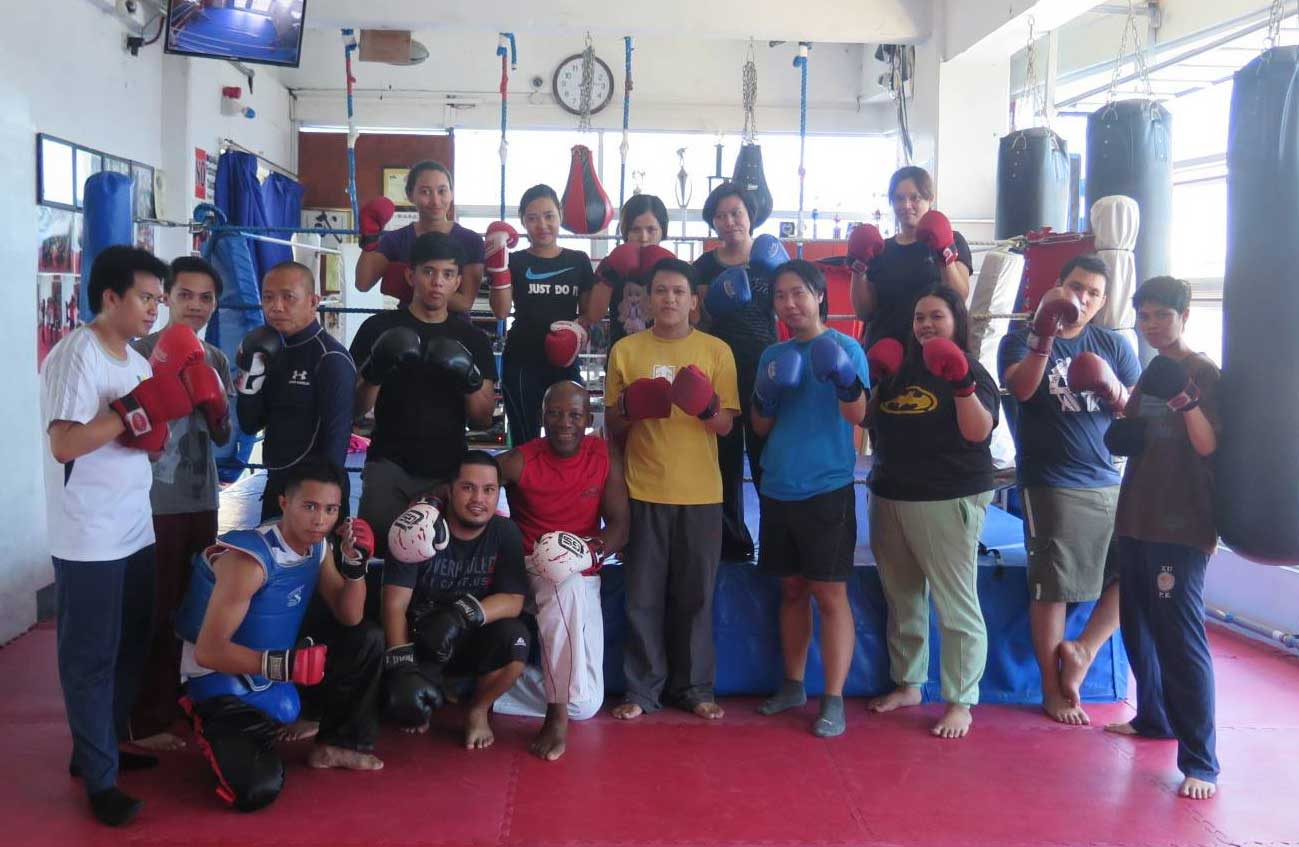LBI Team In Action: Learning Kickboxing And Basic Self-Defense Techniques At Reveillino Kickboxing Academy