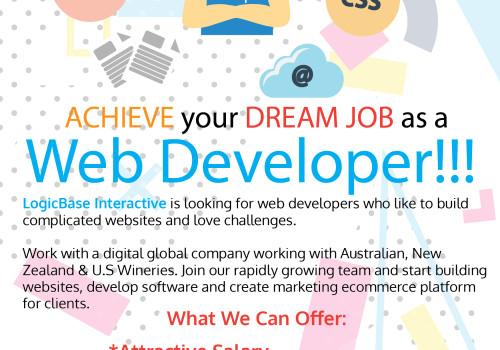 ACHIEVE Your DREAM JOB As A Web Developer