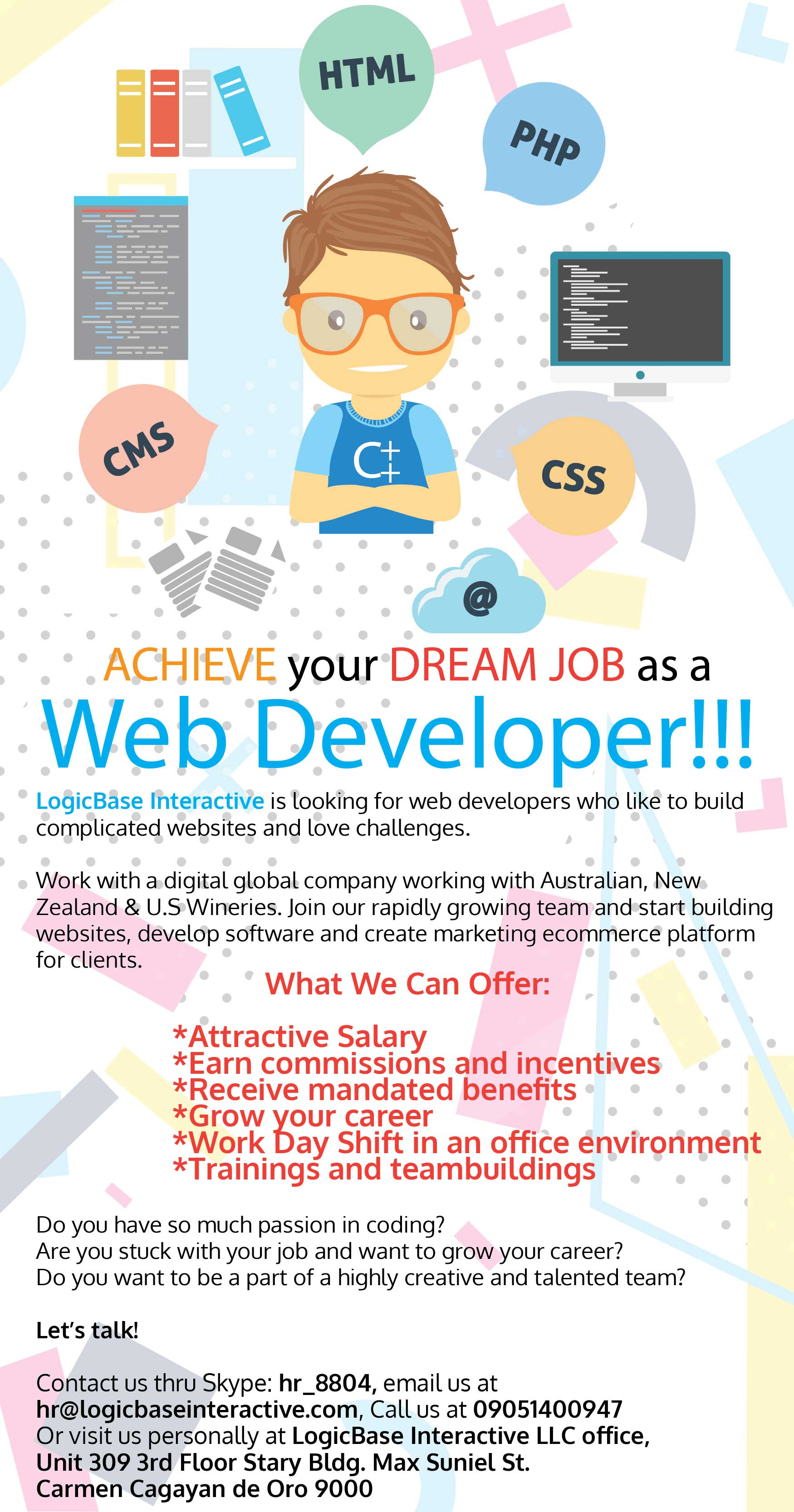 ACHIEVE Your DREAM JOB As A Web Developer
