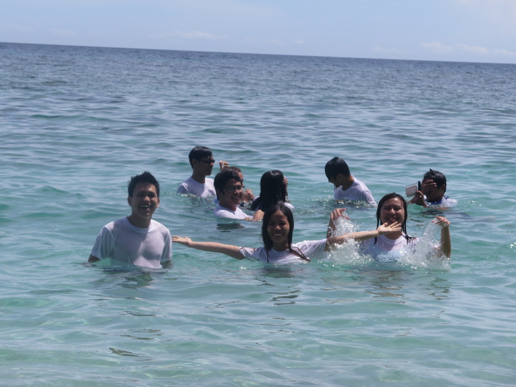 LogicBase Interactive Team Building - Swimming