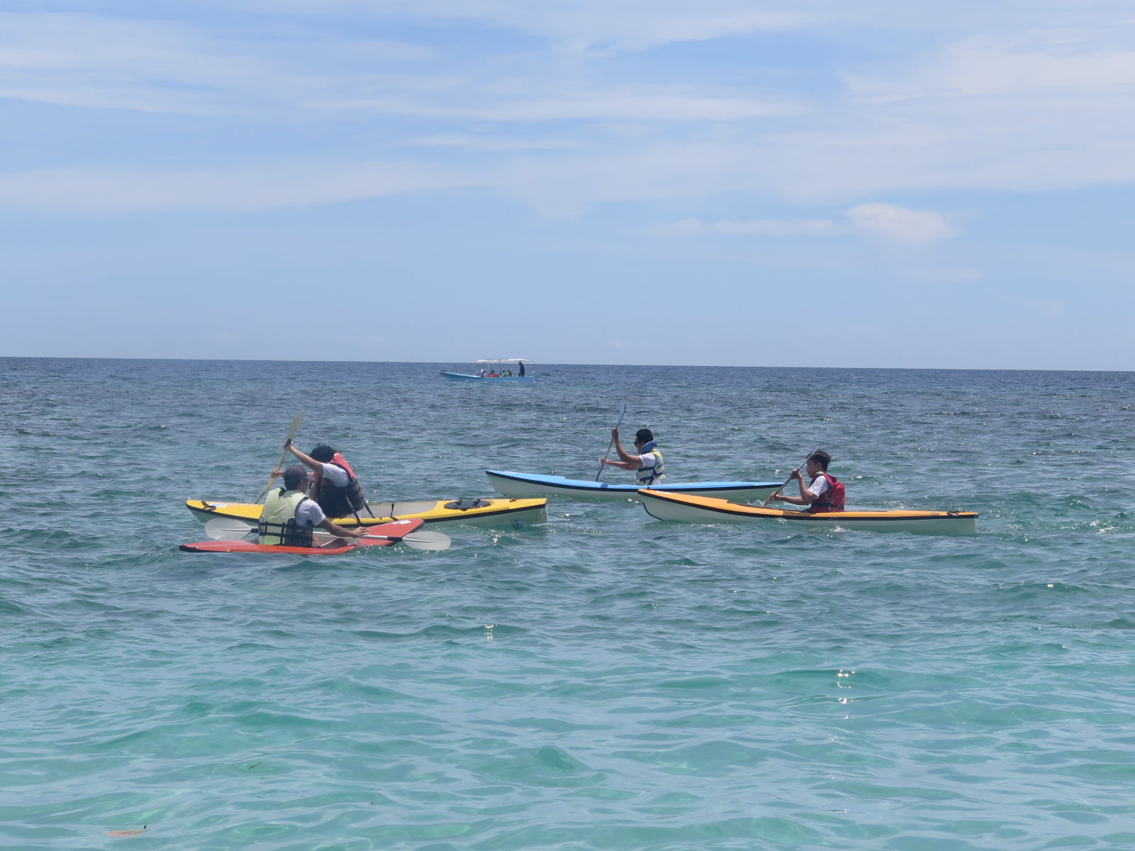 LogicBase Interactive Team Building - Kayak Competition