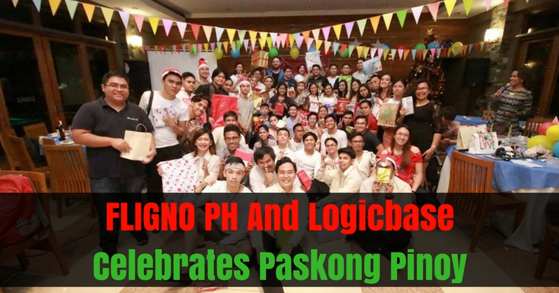 FLIGNO PH And Logicbase Celebrates Paskong Pinoy